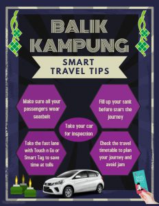 BALIK KAMPUNG SMART TRAVEL TIPS